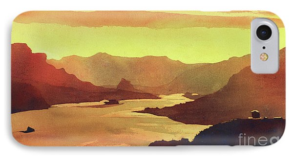 Columbia Gorge Scenery IPhone Case by Ryan Fox
