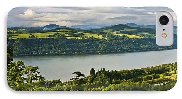 Columbia Gorge Scenic Area IPhone Case by Albert Seger