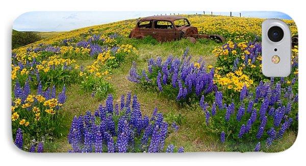 Columbia Hills Wildflowers IPhone Case