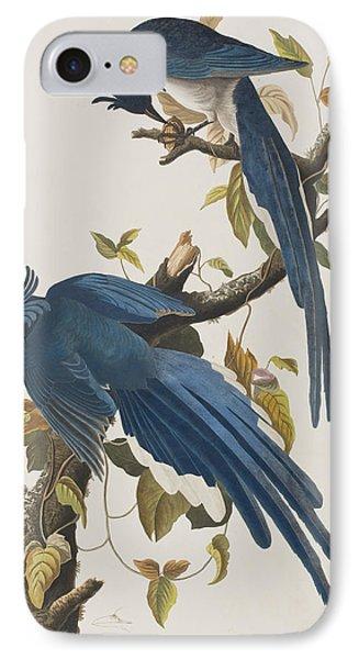 Columbia Jay IPhone 7 Case by John James Audubon