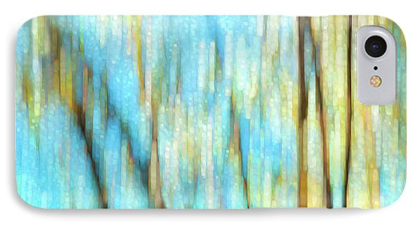 Columbia River Abstract IPhone Case by Theresa Tahara