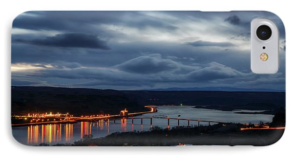 IPhone Case featuring the photograph Columbia River by Cat Connor
