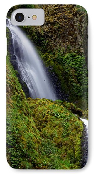 Columbia River Gorge Falls 1 Phone Case by Marty Koch