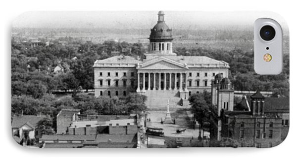 Columbia South Carolina - State Capitol Building - C 1905 IPhone Case by International  Images