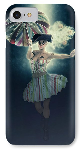 Columbine Funny Girl IPhone Case by Joaquin Abella