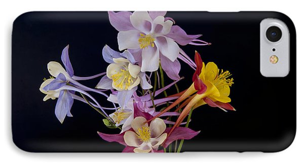 IPhone 7 Case featuring the photograph Columbine Medley by Gary Lengyel