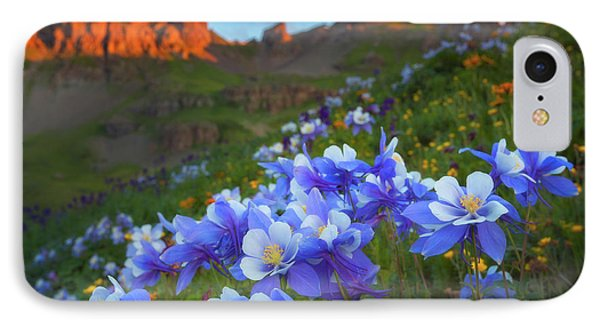 IPhone Case featuring the photograph Columbine Sunrise by Darren White