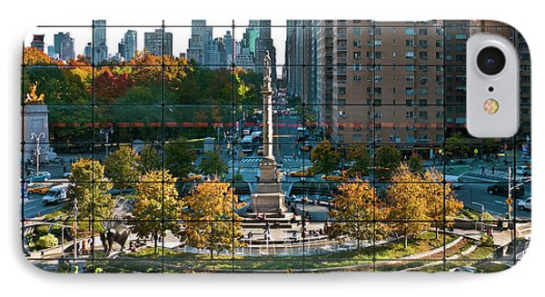 Columbus Circle Phone Case by S Paul Sahm
