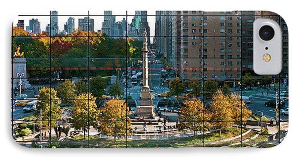 Columbus Circle IPhone Case by S Paul Sahm