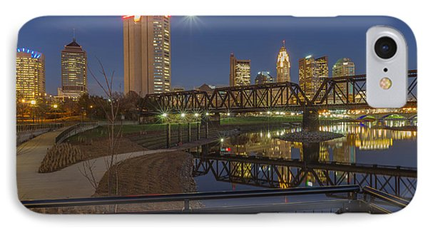Columbus Ohio Nightscape IPhone Case