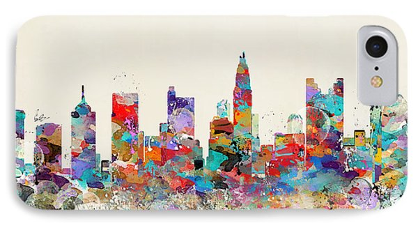 columbus Ohio skyline IPhone Case by Bri B