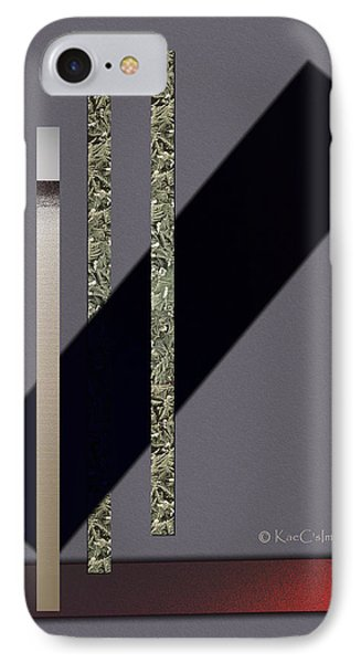 Columns And Spaces IPhone Case