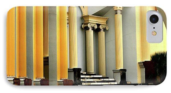 Columns At Plaza De Italia IPhone Case