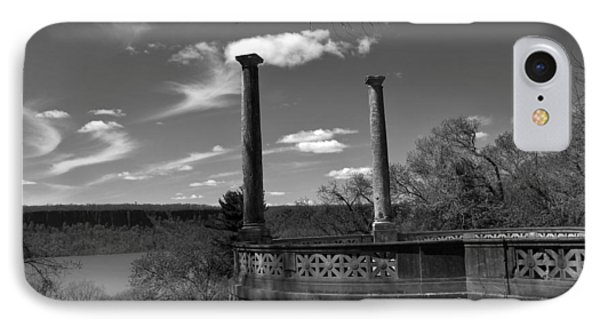 Columns At The Overlook IPhone Case by Jessica Jenney