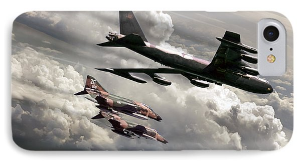 Combat Air Patrol IPhone Case by Peter Chilelli