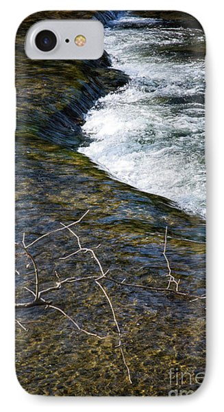 Combo A Stick And Water IPhone Case by Stanton Tubb