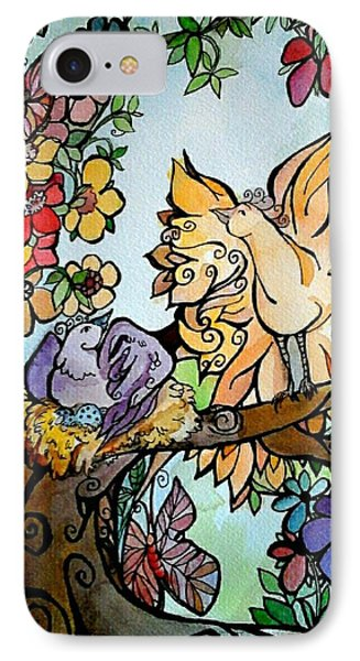 Come Grow Old With Me The Best Is Yet To Be IPhone Case by Claudia Cole Meek