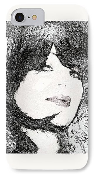 IPhone Case featuring the photograph Come Hither Look by Ellen Barron O'Reilly
