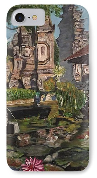 IPhone Case featuring the painting Come Into My World by Belinda Low