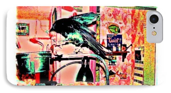 Crow Dance IPhone Case by YoMamaBird Rhonda