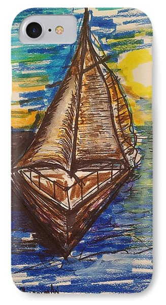Come Sail With Me IPhone Case by Geraldine Myszenski