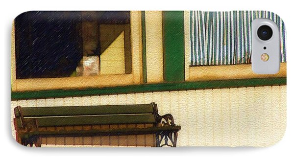 IPhone Case featuring the photograph Come Sit A Spell by Sandy MacGowan