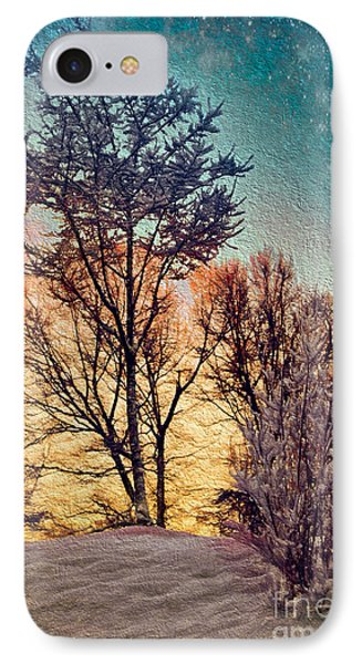 IPhone Case featuring the painting Come The Light by Dan Carmichael