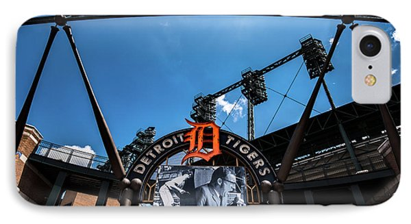 IPhone Case featuring the photograph Comerica Park by Onyonet  Photo Studios