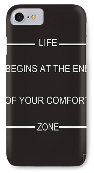Comfort Zone IPhone Case by Pati Photography