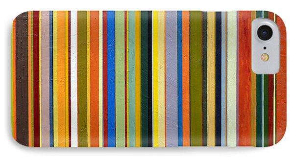 Comfortable Stripes Phone Case by Michelle Calkins