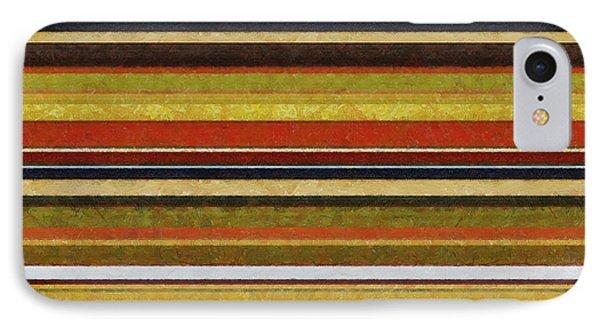 Comfortable Stripes Vl Phone Case by Michelle Calkins