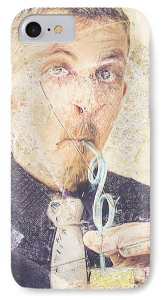 Comic Soda Poster IPhone Case by Jorgo Photography - Wall Art Gallery