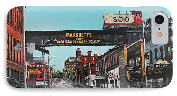 Marquette iPhone 7 Case - Coming Home by Tim Lindquist