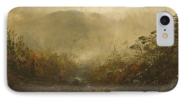 Coming Storm In The Adirondacks Phone Case by William Sonntag