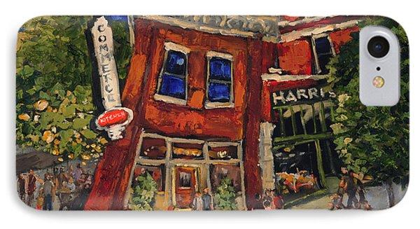 Commerce Kitchen Huntsville Alabama IPhone Case by Carole Foret