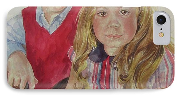 Commissioned Portrait IPhone Case