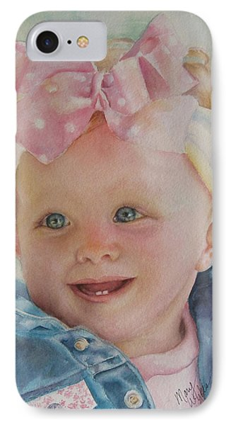 Commissioned Toddler Portrait IPhone Case