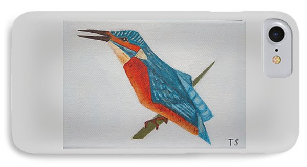Common Kingfisher IPhone Case by Tamara Savchenko