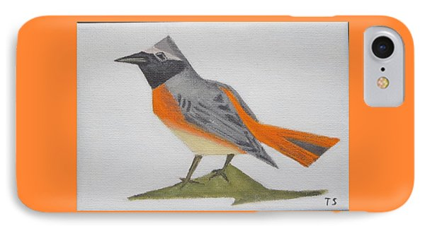 Common Redstart IPhone Case by Tamara Savchenko