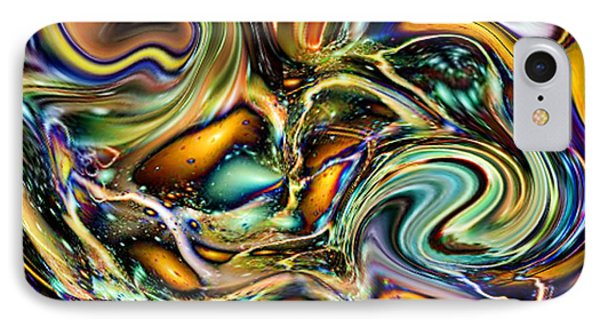 Commotion In The Motion Vii IPhone Case by Jim Fitzpatrick