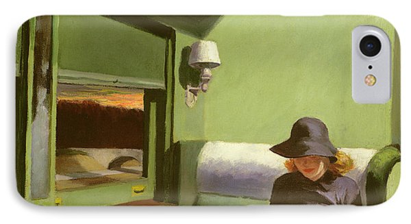 Compartment C IPhone 7 Case by Edward Hopper