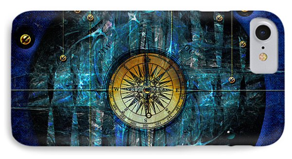 IPhone Case featuring the digital art Compass by Alexa Szlavics