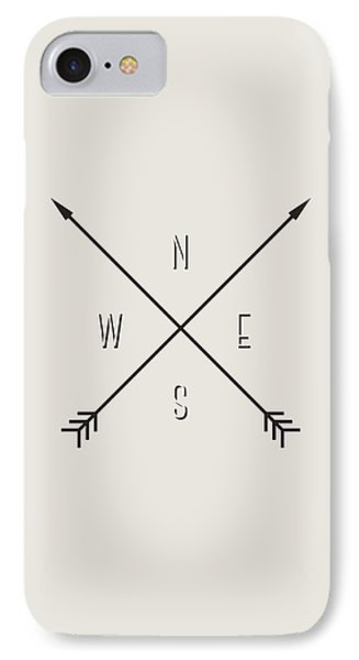 Compass IPhone Case by Taylan Apukovska