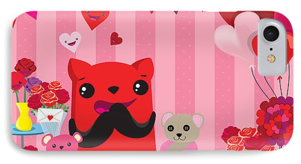 Completly  In Love IPhone Case by Seedys