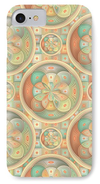 Complex Geometric Pattern IPhone Case by Gaspar Avila