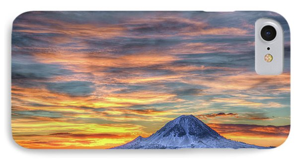 Complicated Sunrise IPhone Case by Fiskr Larsen