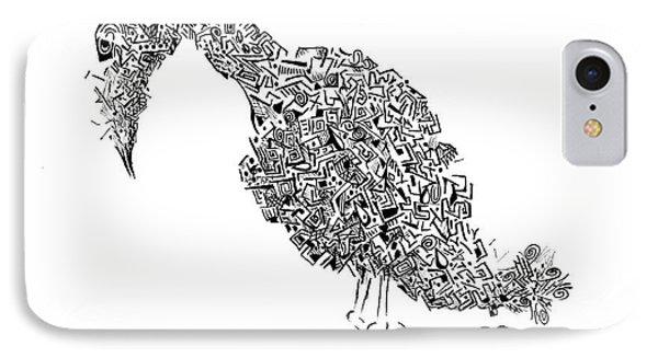 Component Bird IPhone Case by Ronda Breen
