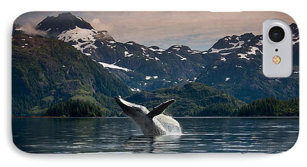 Composite Breaching Humpback Whale IPhone Case