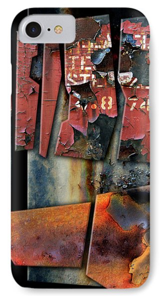 Composition 2 Phone Case by Joan Ladendorf