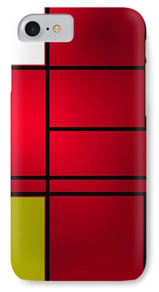 Composition 6 IPhone Case by Alberto RuiZ